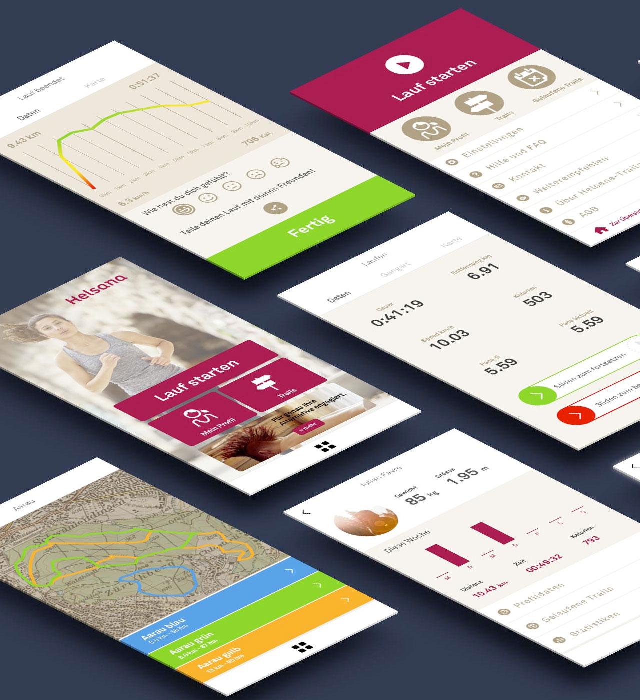 Lauf-App